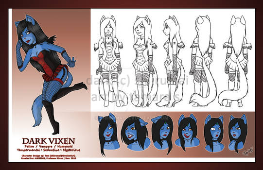 Dark - Full Character Sheet