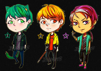Chibi Male AUCTION [open] by JS-AdoptS