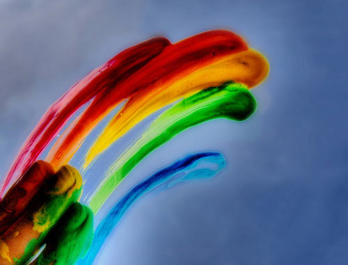 Cool Rainbow Art by rainbowsrmine5631