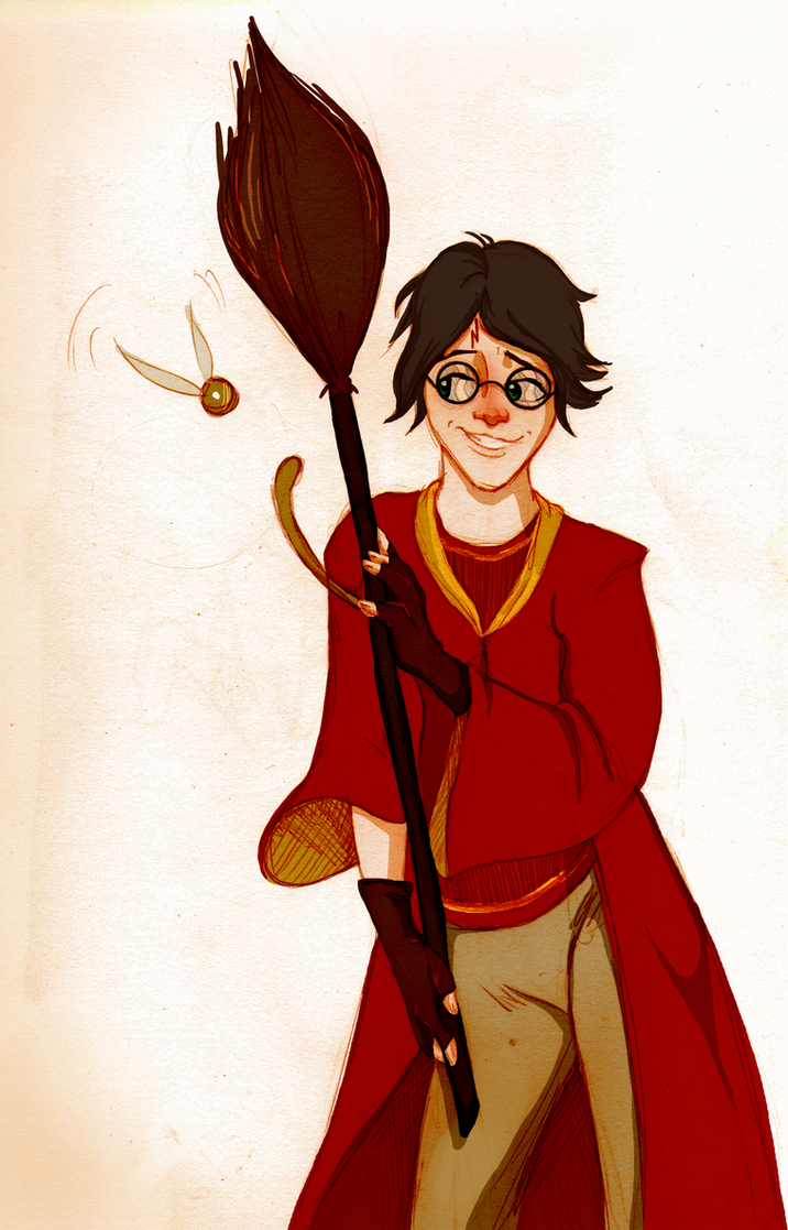 Quidditch Boy by Quabajazzi