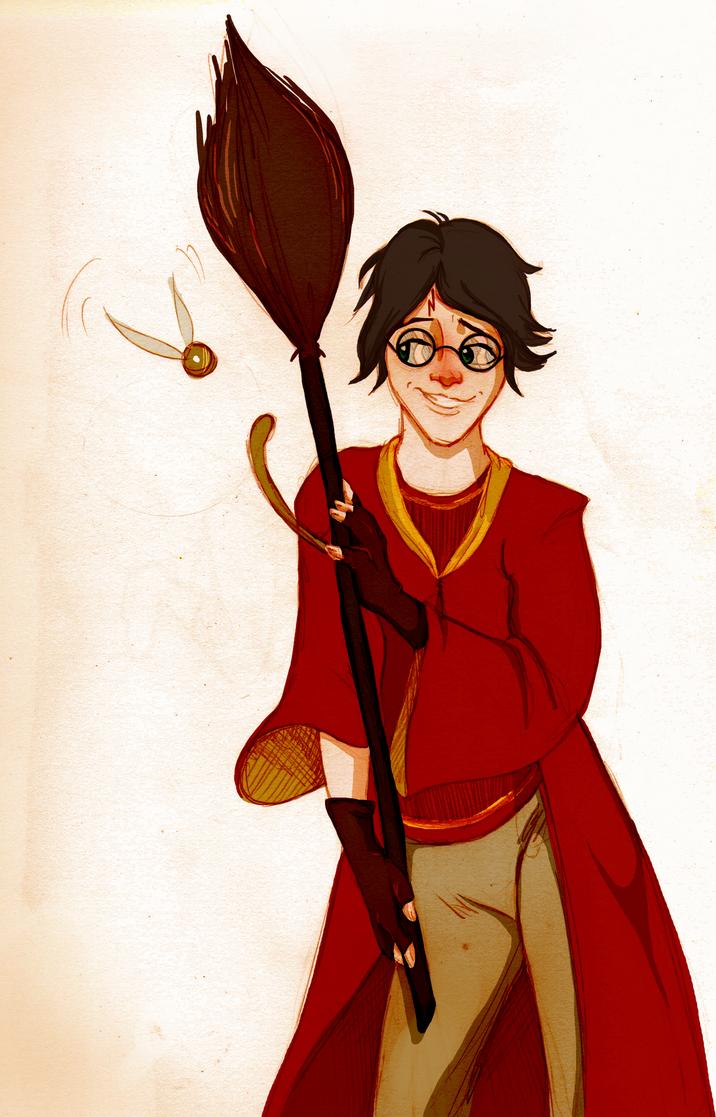 Quidditch Boy by Quabajazzi