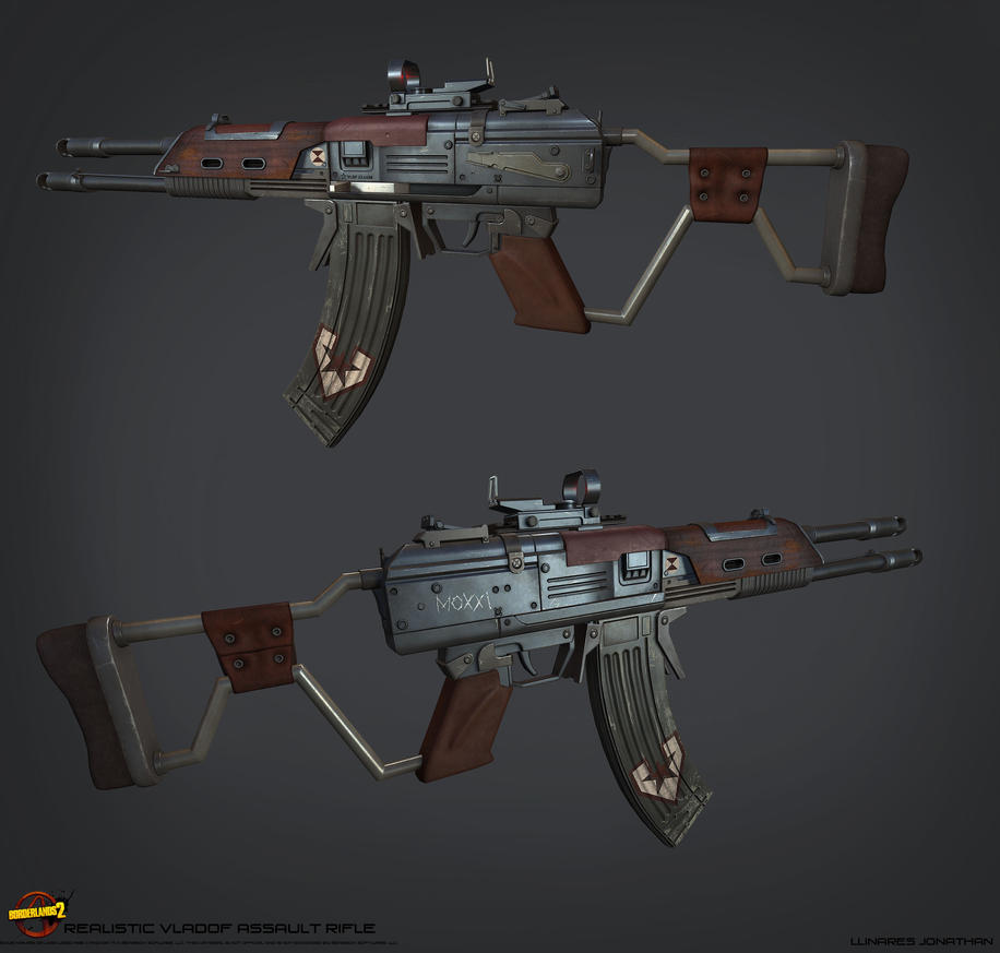 REALISTIC VLADOF ASSAULT RIFLE 1 by CougarJo