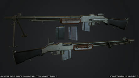 M1918A2 - Browning Automatic Rifle