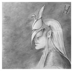Blind warrior by hwaetmere
