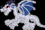 MLP OC Villains (DGD) - Skeleton Dragon ''Doom''