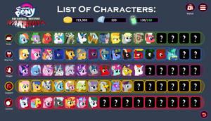 MLP: EDW - Characters Board v0.2