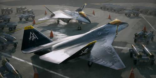 Stealth Fighter Ver01