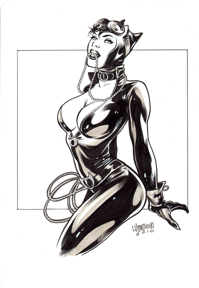Flash - [TEMPORADA 4] CLASH OF COMICBOOK ARTISTS - Página 3 Private_commission___cat_woman_by_manulupac-d33ovsn