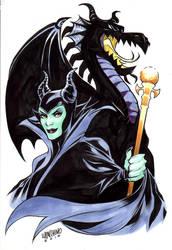 Private Commission-Maleficent