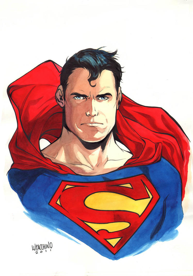 Superman by manulupac