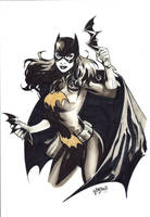 Batgirl commission  LCF by manulupac