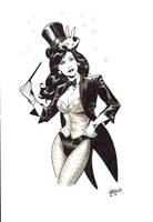 Zatanna commission LCF by manulupac