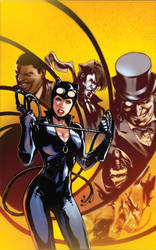 Catwoman Annual cover