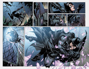 Catwoman and Batman
