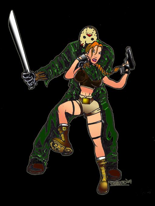 [Image: Jason_vs_Lara_Croft_by_vezolution.png]