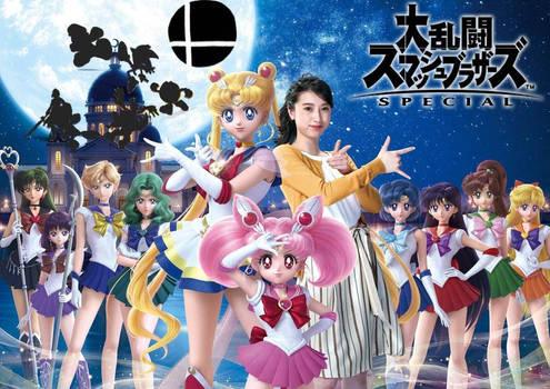 Sailor moon for smash