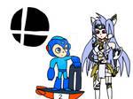 Megaman and Kos-mos