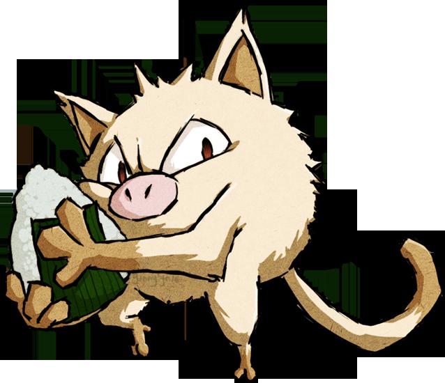 Gregory Macdolls - 1º Caçada Pokemon - Página 2 Mankeywws_by_ginnylyn2-d78p2v6