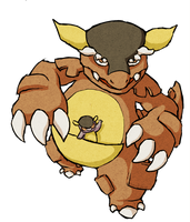 Kangaskhan WWS by the19thGinny