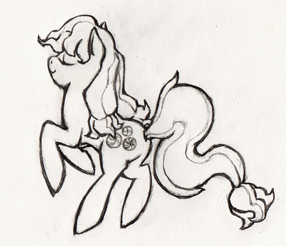 Sketchy Minty by the19thGinny