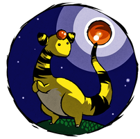 Ampharos WWS by the19thGinny