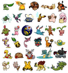Pokemon WWS Generation II: First 33 by the19thGinny