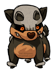 Houndour WWS by the19thGinny
