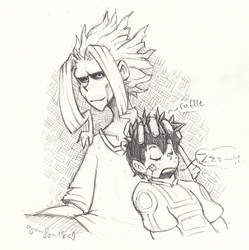 MHA: Tired by the19thGinny