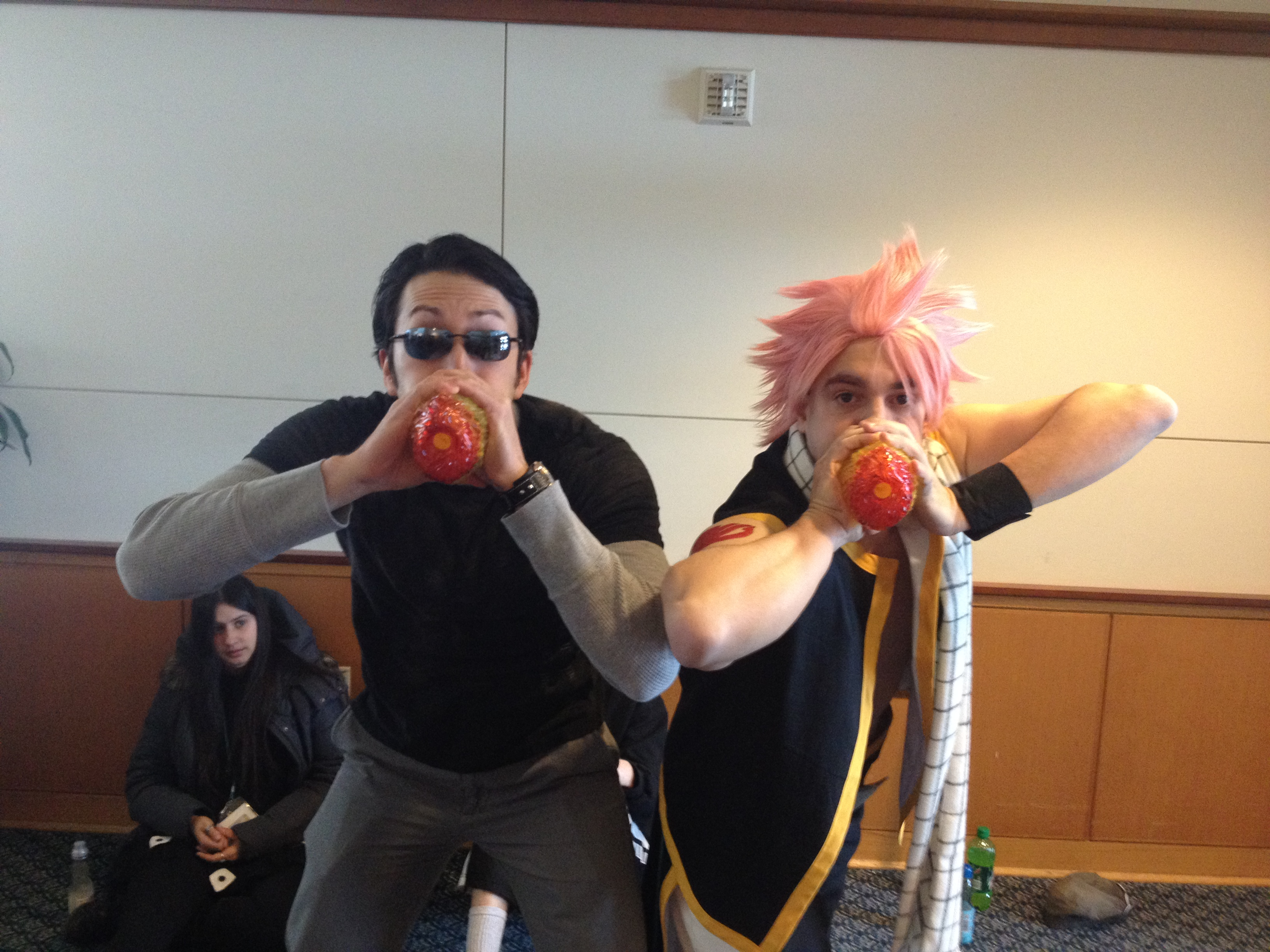 setsucon 2014 natsu and todd haberkorn double fire by