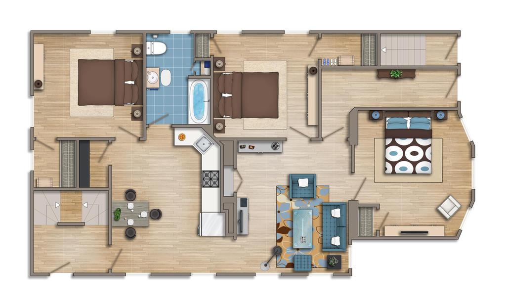 Floor Plan 2d Colored By Talens3d On Deviantart