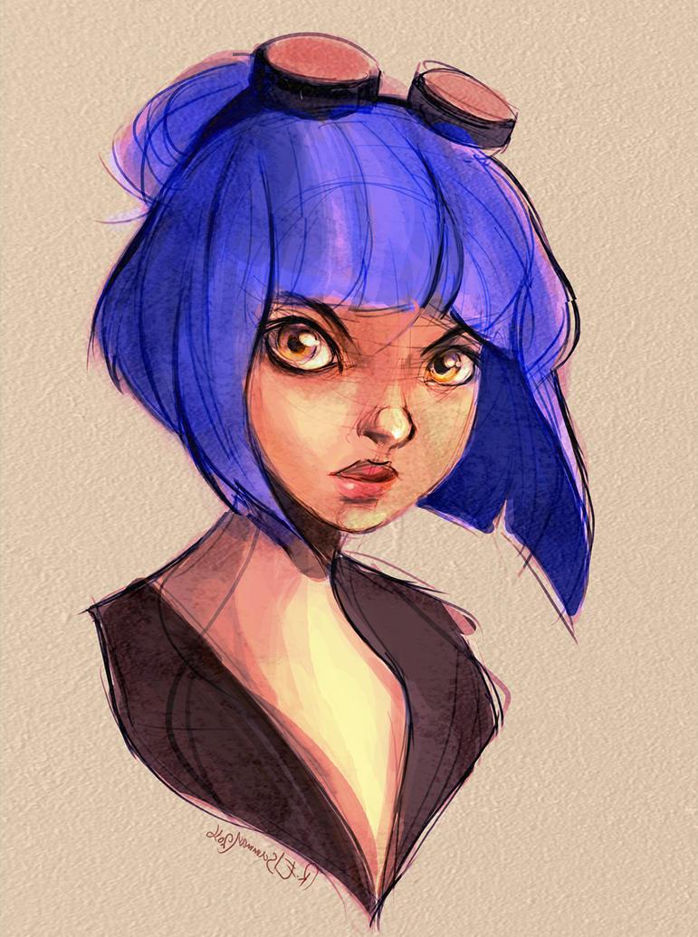 Violet by R-Elsamman