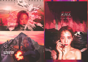 Jisoo , kill this love -008 by delicatetrees