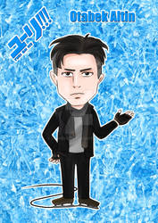 Yuri On Ice - Otabek Altin Postcard Design