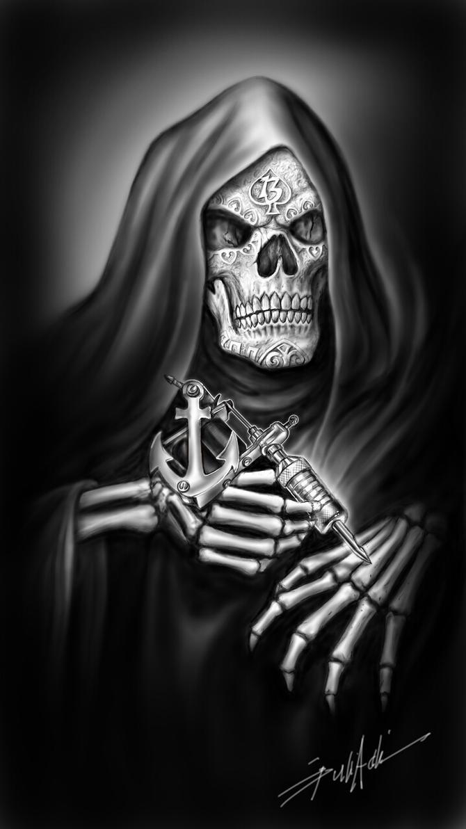 Reaper Shirt Design