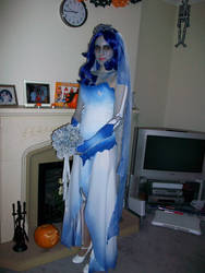 Corpse Bride Costume. by darkvelvet20