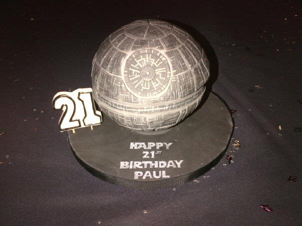 How To Make A D Death Star Cake