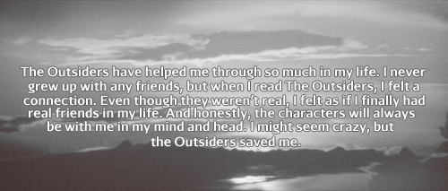 Outsiders Confessions...