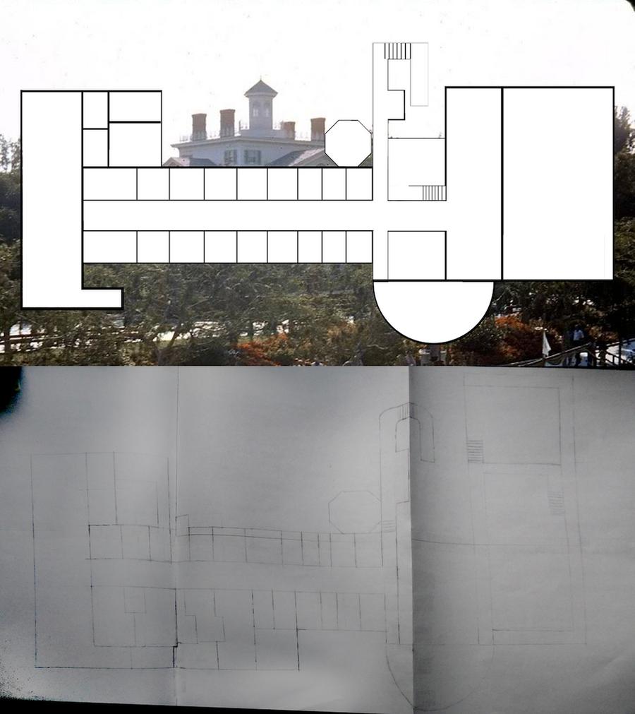 Haunted Mansion Blueprints 3ft By Hatbox1318 On Deviantart