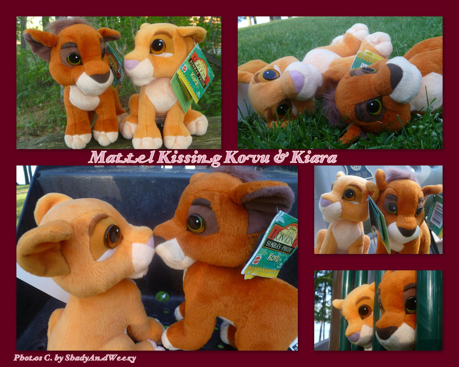 Mattel Kissing Kovu And Kiara by DoloAndElectrik