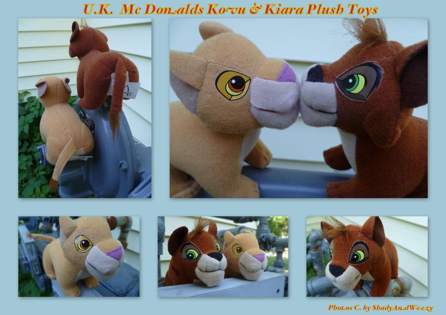 UK Mc Donalds Kovu And Kiara by DoloAndElectrik