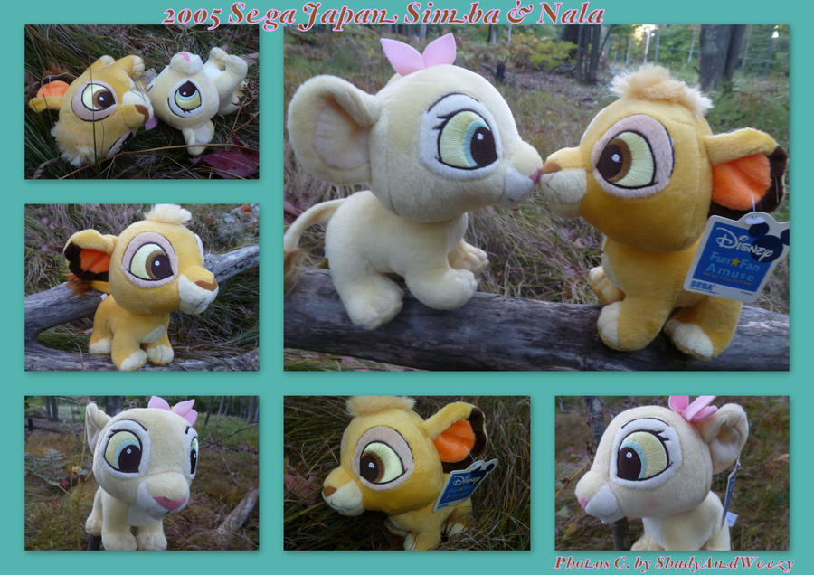 2005 Sega Japan Simba And Nala by DoloAndElectrik