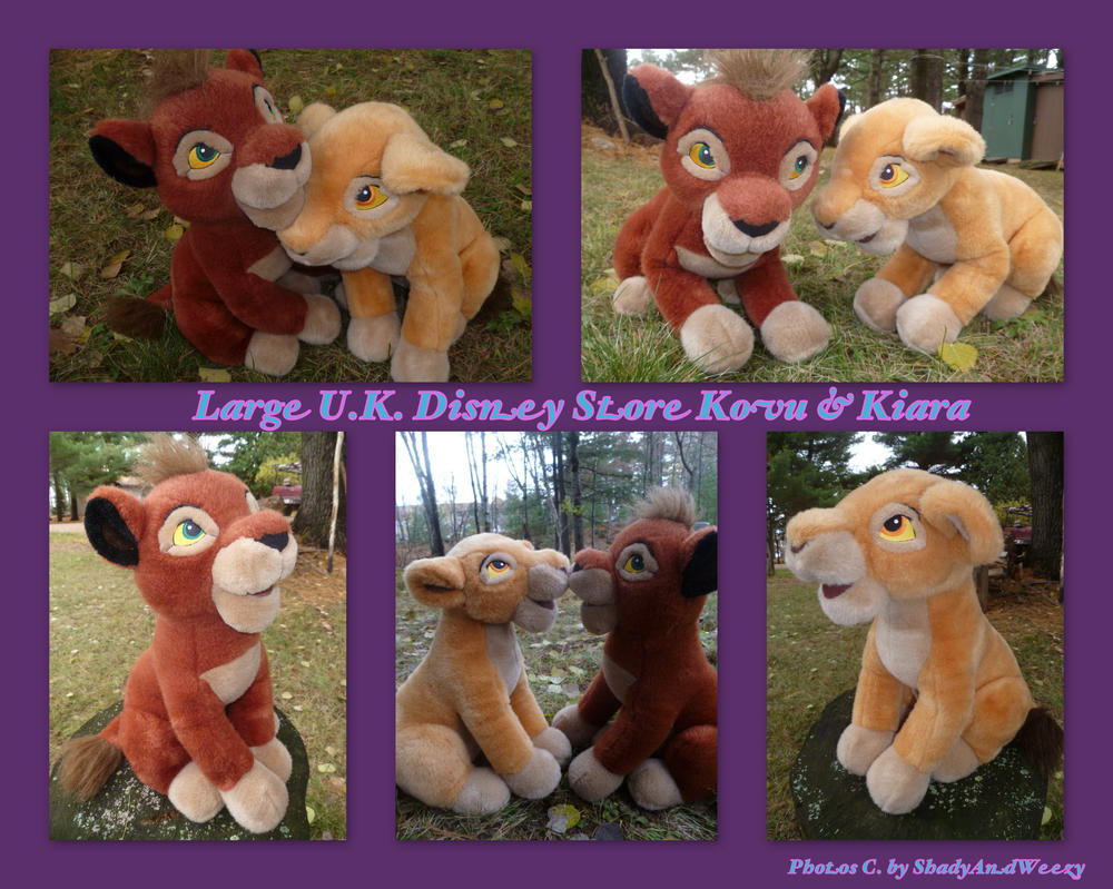 Large UK Disney Store Kovu And Kiara by DoloAndElectrik