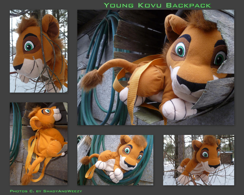 Young Kovu Backpack by DoloAndElectrik