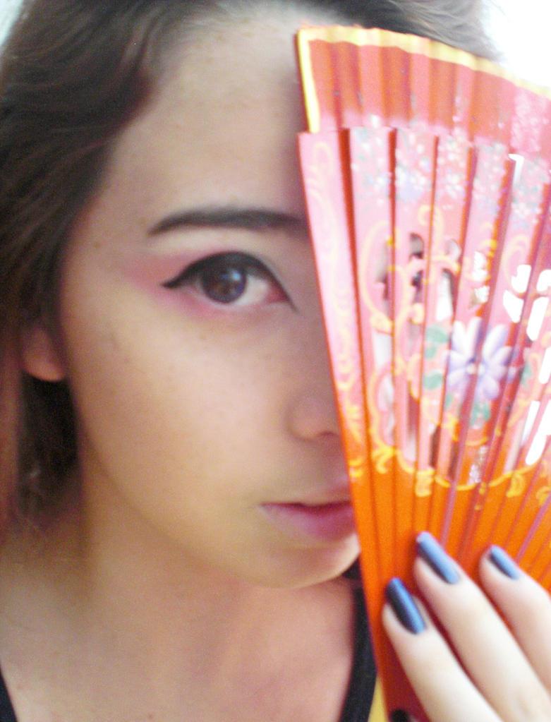 Japanese Traditional Makeup by juliettebelle on deviantART
