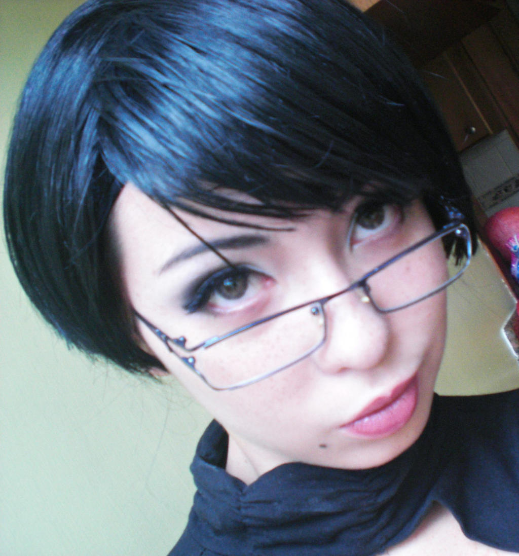 Bayonetta 2 Test Makeup by juliettebelle