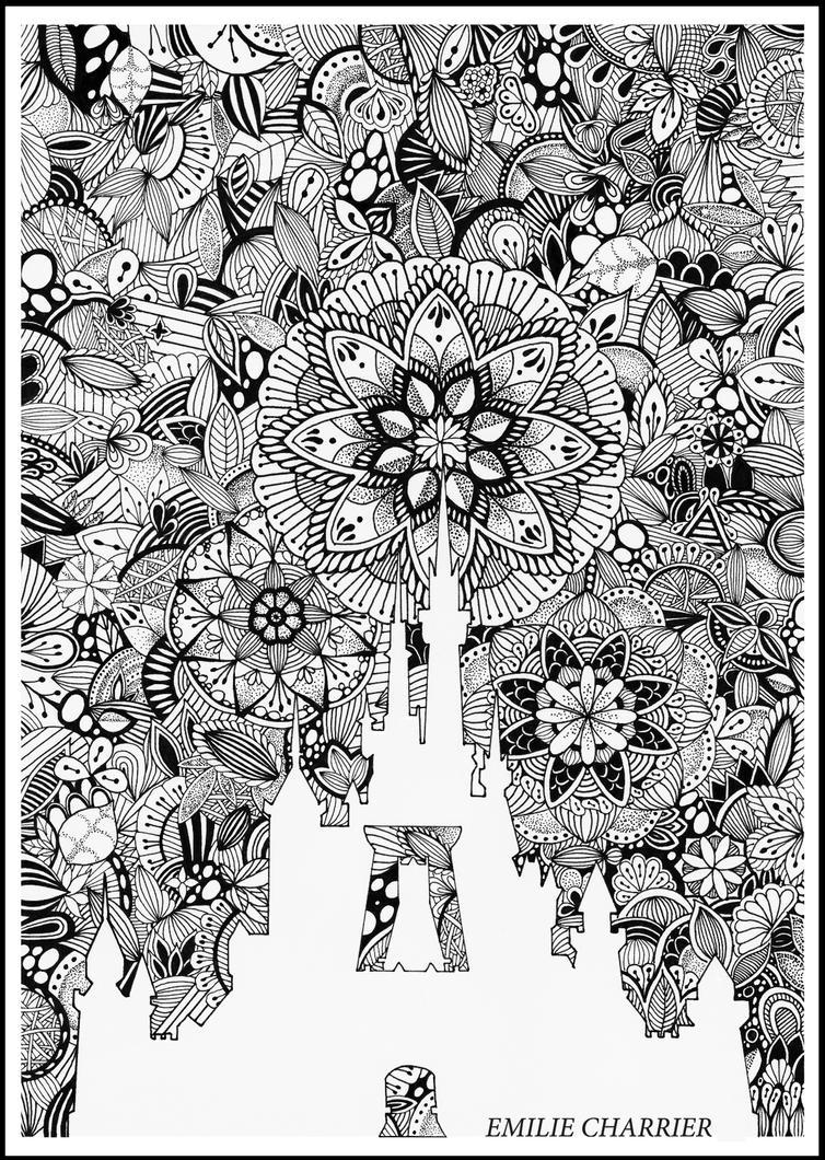 Disney - Mandala by e-charrier on DeviantArt