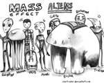 mass effect aliens