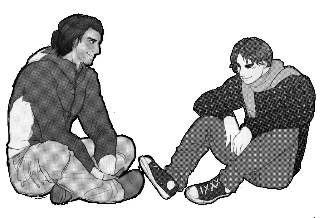Connor And Ezio by YazoraConnor And Ezio