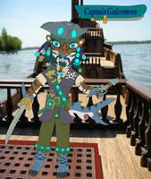 CaptainGaleomon Pirate Tigershark