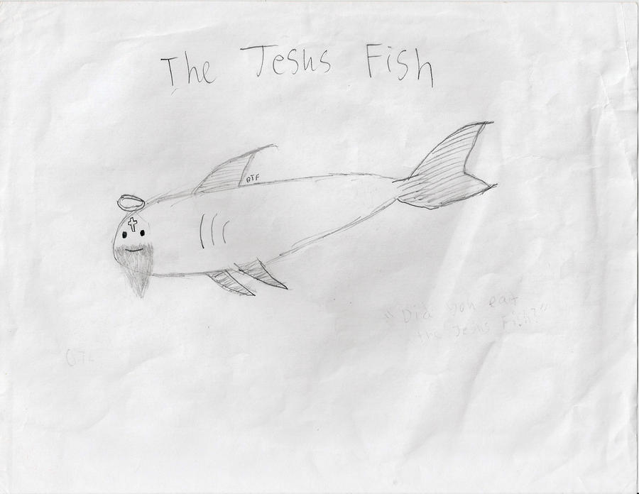 The Jesus Fish by speedbump07
